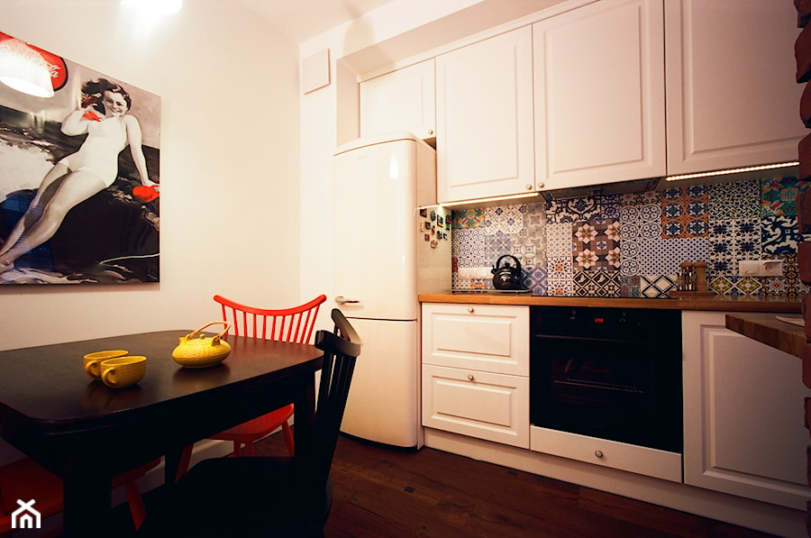 Realizacja Dywizjonu 303 Kuchnia Styl Eklektyczny Zdjęcie Od