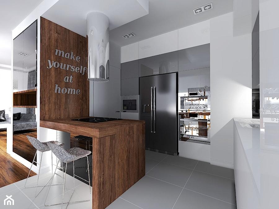 Szare płytki w kuchni  jaki to producent i model płytek