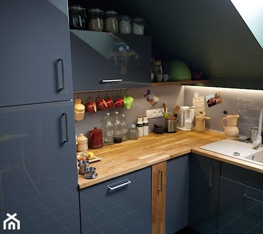 Kuchnia Na Poddaszu Zdjęcie Od Drewienco Homebook