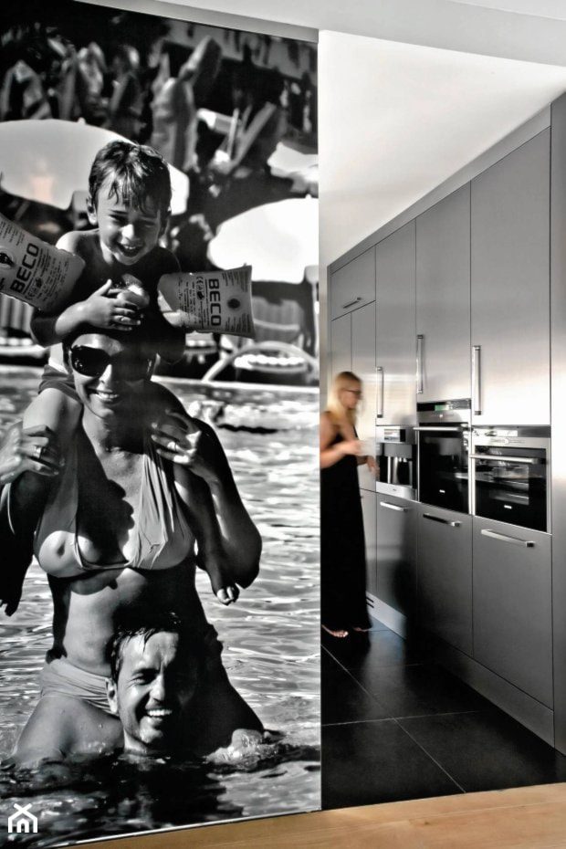 Dom pod Warszawą - Kuchnia, styl nowoczesny - zdjęcie od Anyform