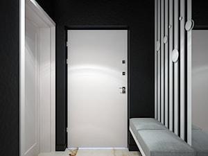 Europejska Resident - Mały czarny hol / przedpokój, styl nowoczesny - zdjęcie od Studio projektowania wnętrz''Studio Aranżacji''