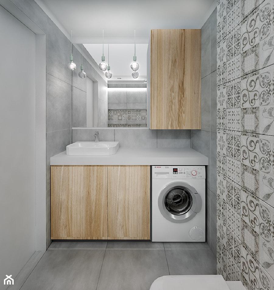Aranżacje wnętrz - Łazienka: łazienka z patchworkiem - Studio projektowania wnętrz''Studio Aranżacji''. Przeglądaj, dodawaj i zapisuj najlepsze zdjęcia, pomysły i inspiracje designerskie. W bazie mamy już prawie milion fotografii!