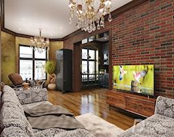 Salon w stylu eklektycznym - zdjęcie od FrancescoDesign