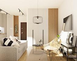 Przytulna kawalerka na Ursynowie - zdjęcie od Decoroso Architektura Wnętrz - Homebook