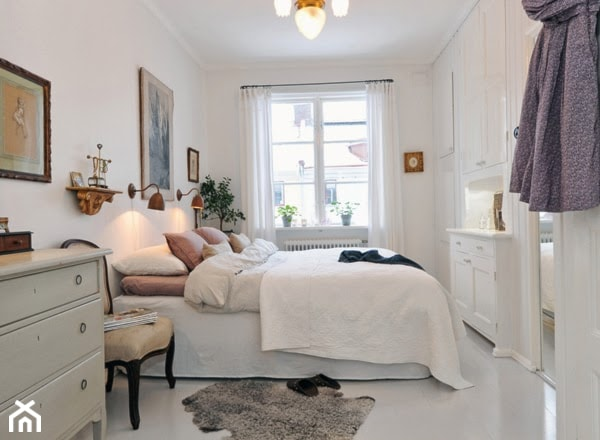 Jak urządzić małą sypialnię w stylu skandynawskim ...