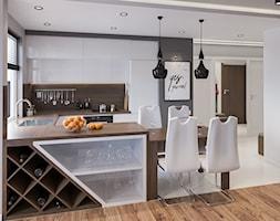 Część dzienna w mieszkaniu kawalera - zdjęcie od Art & Deco Design