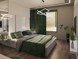 Sypialnia w barwach natury