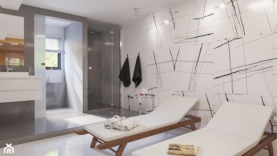 Łazienka połączona z sauną - zdjęcie od Art & Deco Design
