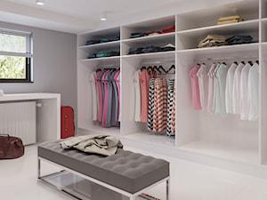 Projekt wybranych wnętrz w domu jednorodzinnym, styl nowoczesny