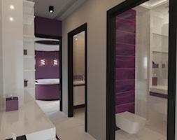 Salon kąpielowy - Duża biała łazienka w bloku w domu jednorodzinnym jako salon kąpielowy, styl nowoczesny - zdjęcie od Art & Deco Design