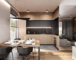 MIESZKANIE KATOWICE 75 M2 - Kuchnia, styl nowoczesny - zdjęcie od EDYTA SOWIŃSKA INTERIOR DESIGN - Homebook