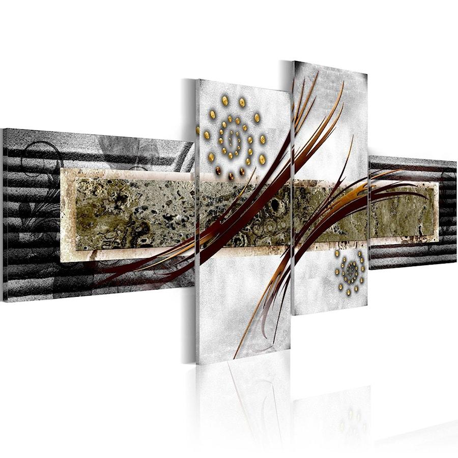 Nowoczesna architektura Obrazy drukowane na płótnie – sztuka w Twoim domu - Salon, styl CT39