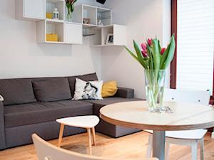Niewielkie mieszkanie w skandynawskim stylu