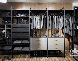 Garderoba KOMANDOR - Średnia garderoba, styl industrialny - zdjęcie od Komandor - Wnętrza z Charakterem
