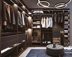 Garderoba KOMANDOR - Duża zamknięta garderoba przy sypialni - zdjęcie od Komandor - Wnętrza z Charakterem