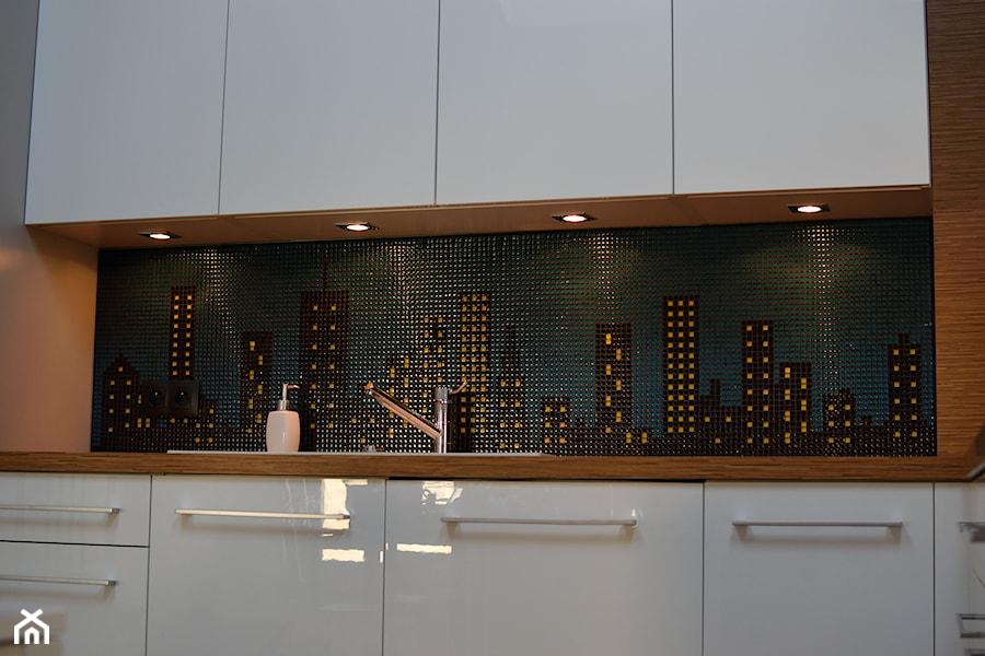 Mozaika Szklana Stworzona Według Pomysłu Klienta Zdjęcie