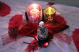 stroik świąteczny w stylu scandi