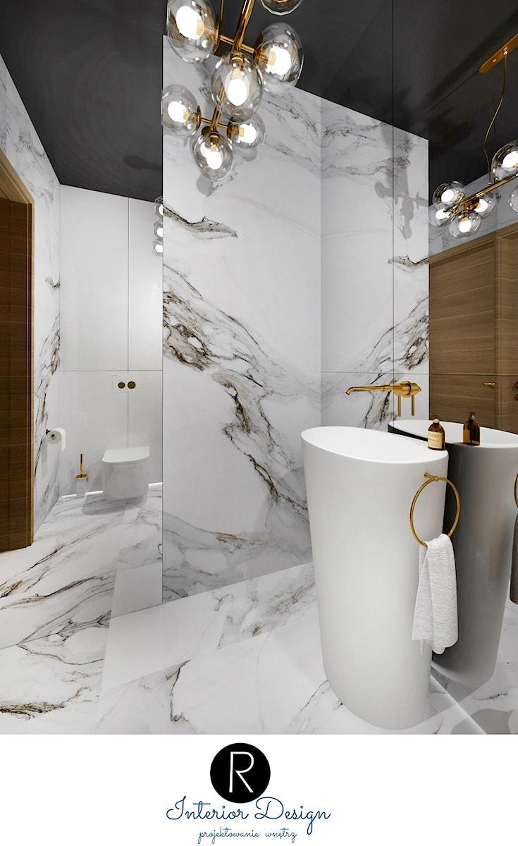 Gościnna Toaleta łazienka Luksusowa łazienka Zabudowa