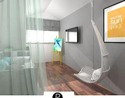 Pokój nastolatka na poddaszu - zdjęcie od KATARZYNA ROŻEK R-INTERIOR DESIGN projektowanie wnętrz