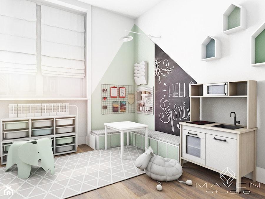 Metamorfoza pokoju dziecięcego - zdjęcie od Maven Studio Architektura Wnętrz