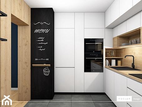 Aranżacje wnętrz - Kuchnia: Navy blue - kuchnia - Kuchnia, styl nowoczesny - Vecler Design. Przeglądaj, dodawaj i zapisuj najlepsze zdjęcia, pomysły i inspiracje designerskie. W bazie mamy już prawie milion fotografii!