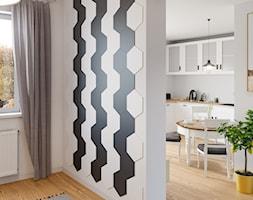 Hexagon+Black+and+White+-+zdj%C4%99cie+od+Panele+3D+Kalithea
