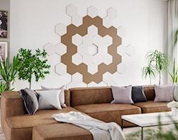 Hexagon+-+panele+3D+na+%C5%9Bcian%C4%99+-+zdj%C4%99cie+od+Panele+3D+Kalithea