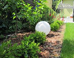 Ogród z altaną - Ogród, styl nowoczesny - zdjęcie od Ogrodowe Szaleństwo - Homebook