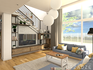 Dom w klimacie modern farmhouse