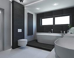 Pokój kąpielowy na parterze. - zdjęcie od AFG STUDIO - Homebook