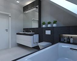 Łazienka na piętrze. - zdjęcie od AFG STUDIO - Homebook