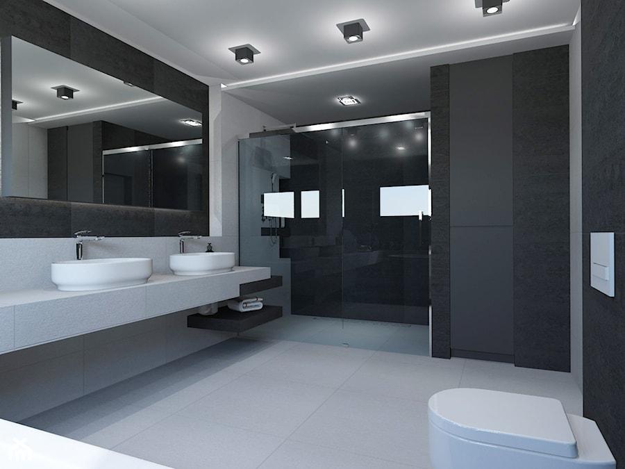 Pokój kąpielowy na parterze. - zdjęcie od AFG STUDIO