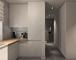 Biała kuchnia w macie. - zdjęcie od Smart Design Sara Tokarczyk