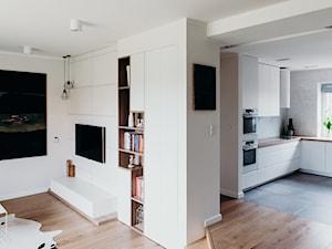 Salon w stylu - nowoczesny minimalizm