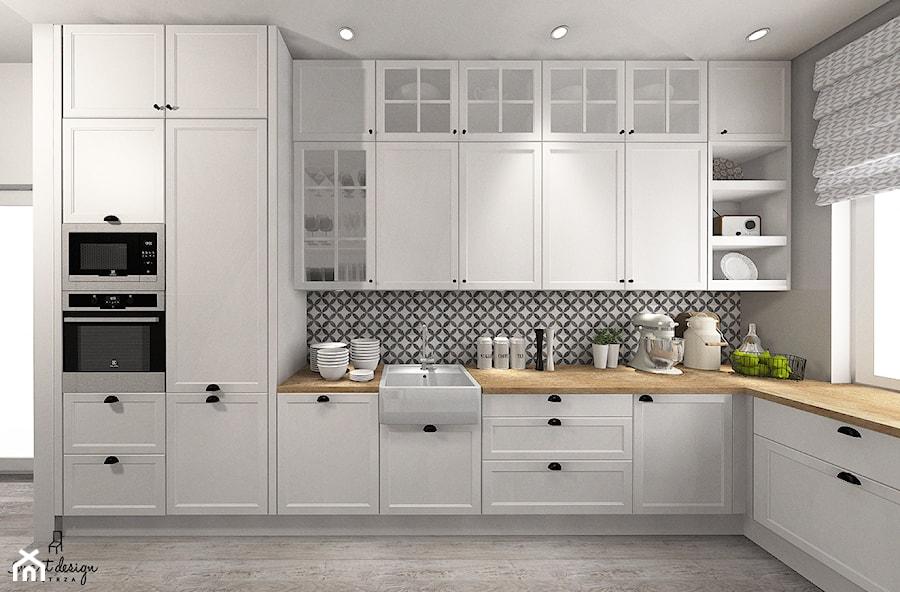 Kuchnia W Stylu Skandynawskim Zdjęcie Od Smart Design Sara