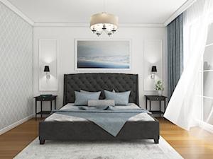 Klasyczna sypialnia\ Willa w stylu Amerykańskim
