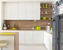 Kuchnia w kolorze łamanej bieli. - zdjęcie od Smart Design Sara Tokarczyk
