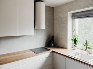 Kuchnia \ biały lakier mat