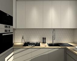 Kuchnia w odcieniach bieli i szarości - zdjęcie od Smart Design Sara Tokarczyk