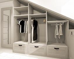 Garderoba+pod+skosami+-+zdj%C4%99cie+od+Smart+Design+Sara+Tokarczyk