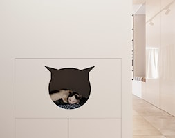 Nowoczesny+przedpok%C3%B3j+w+apartamentowcu+-+zdj%C4%99cie+od+Smart+Design+Sara+Tokarczyk