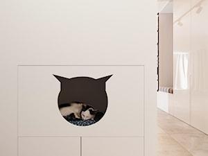 Przedpokój w nowoczesnym apartamentowcu