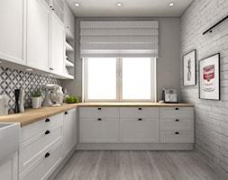 Kuchnia w stylu skandynawskim - zdjęcie od Smart Design Sara Tokarczyk