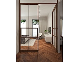 Apartament nad jeziorem - Hol / przedpokój, styl nowoczesny - zdjęcie od SOFT LOFT Magdalena Jakimyszyn - Homebook