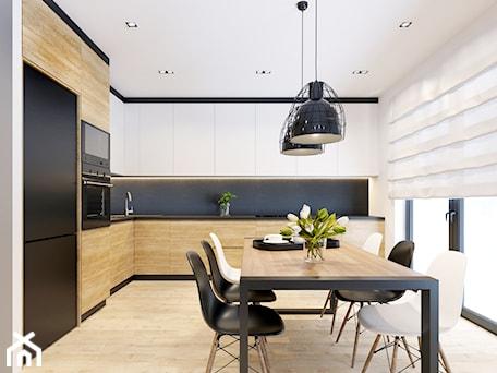 Aranżacje wnętrz - Kuchnia: Kuchnia Skawina - NEFA Architekci - Wnętrza. Przeglądaj, dodawaj i zapisuj najlepsze zdjęcia, pomysły i inspiracje designerskie. W bazie mamy już prawie milion fotografii!