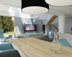 Jadalnia z kroplą mięty - zdjęcie od NEFA Architekci