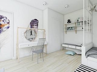 Sypialnia Wiktorii - Skandynawskie klimaty