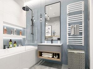 Warszawa Villa S - projekt łazienki chłopców - zdjęcie od NEFA Architekci