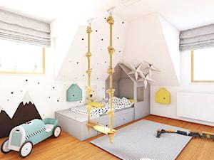 Pokój K. na poddaszu - zdjęcie od NEFA Architekci