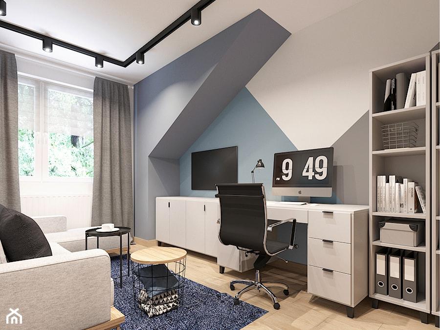 Pokój nastolatka w Krakowie - zdjęcie od NEFA Architekci